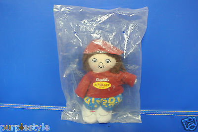 Campbell's Alphabet Soup Boy Doll Mail-In Promo In Original Bag Never Open