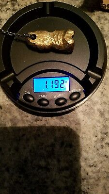 1.1 ounce gold nugget