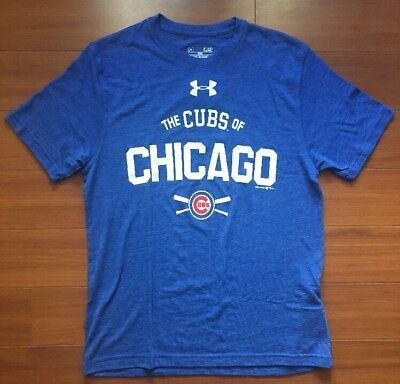 765b3b0f Under Armour Ua Chicago Cubs Loose Heatgear Tee Kris Bryant Rizzo Zobrist ⚾️