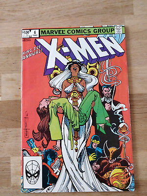 Uncanny X-Men Annual #6   1982 - guest appearance by Dracula - Marvel Comics