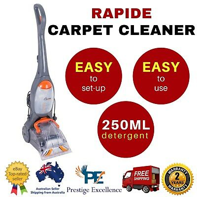 Carpet Cleaner Washer Wet Carpet Cleaning Machine Vax Rapide 6m Cord Home Office