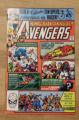 Marvel Comics The Avengers #10 King-Sized Annual First Rogue Comic Book