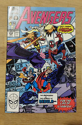 Avengers # 316 - Spider-Man joins Avengers  - Ungraded - Marvel Comic