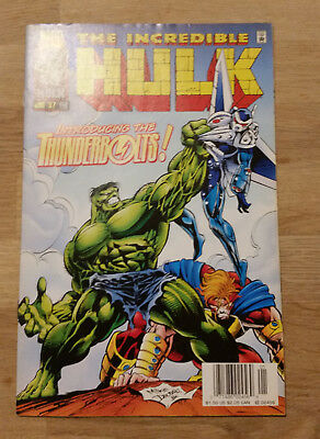 Incredible Hulk Comic Series 1 #449 1997  Marvel 1st Appearance The Thunderbolts