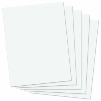 50 sheets premium 8.5 x 11 double sided glossy photo paper for laser printers