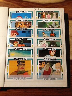 140 Captain Future  Sammelbilder Sticker NO Panini - SELTEN - RARE - KULT - TOP