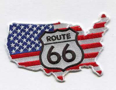 Route 66  Aufnäher/Patches