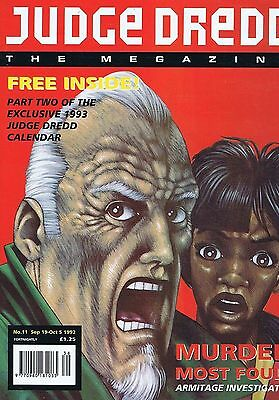 JUDGE DREDD	The Megazine	no.	11	Sep	19	1992