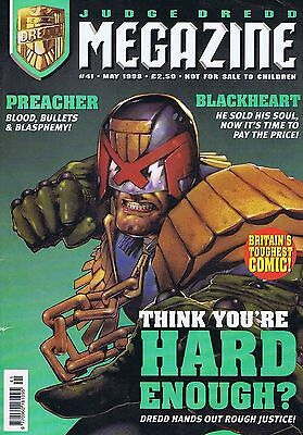 JUDGE DREDD	The Megazine	no.	41	May	1998