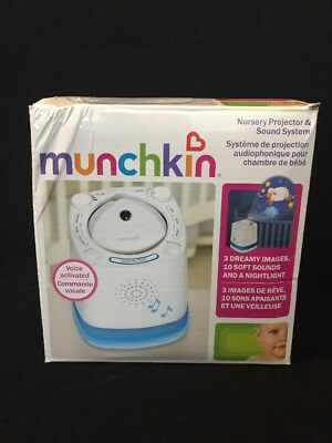 Munchkin Nursery Projector and Sound System Light up Music