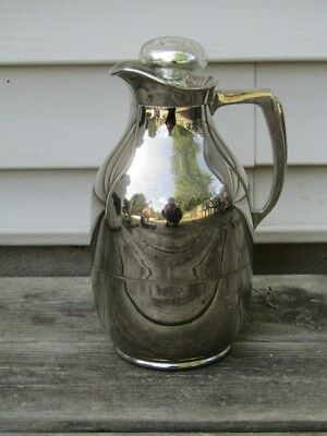 Vintage Chrome Thermos Pitcher - American Thermos Bottle Co.
