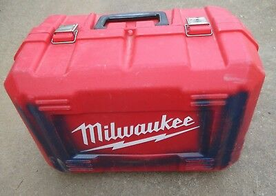 Milwaukee Circular Saw Carry Case 48-55-9166 Excellent Condition