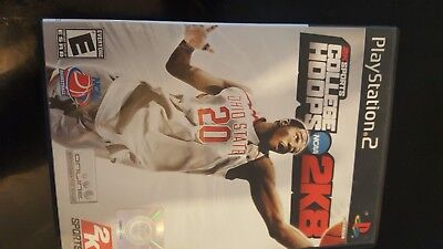 College Hoops 2K8 Sony PlayStation 2 PS2 2008 08 basketball sports game rated E