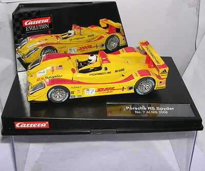 qq career EVOLUTION 27204 PORSCHE RS SPYDER #7 ALMS 2006 DUMAS - BERNHARD