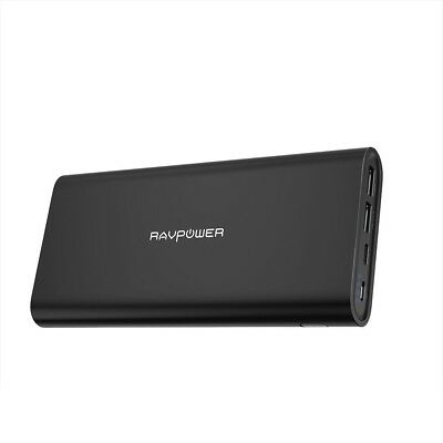 Upgraded Portable Charge RAVPower 26800mAh Power Bank with Dual Input Port