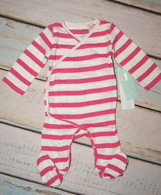 Aden Anais BNWT Baby Girls Breathable Muslin Cotton Sleepsuit Size 0-3 Months