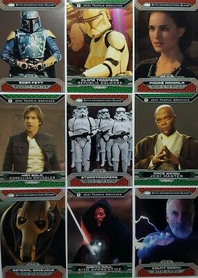 STAR WARS CHROME PERSPECTIVES Jedi Vs Sith Trading Card SET OF 100 TOPPS   2015