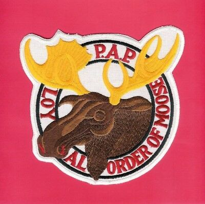 Loyal Order Of Moose P.A.P. Patch 6 1/4in x 6 3/4in