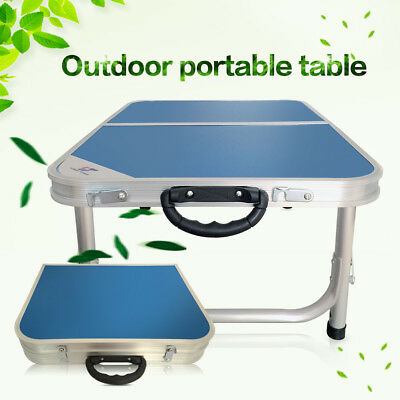 Portable Carry Handle Compact Folding Table Aluminum Camping Table For  Picnic
