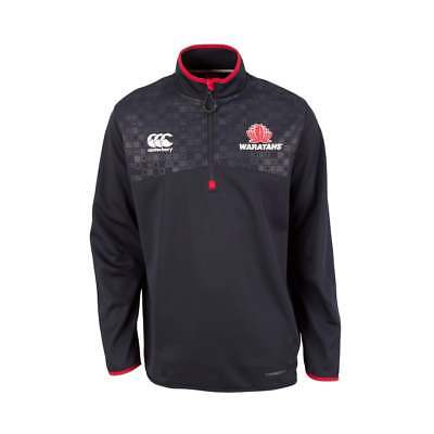 NSW Waratahs Rugby 1/4 Zip Thermoreg Top Navy | Official Canterbury Store