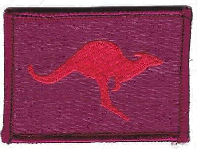Army Australia OBG3 Iraq Deployment Patch hook backing