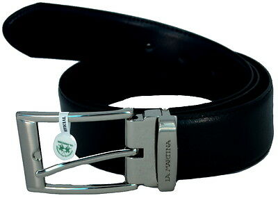 Men's Belt Reversible Black/Blue La Martina Belt Men Black/Blue