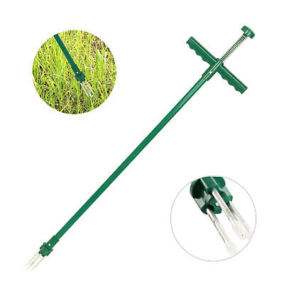 Garden Twist Weeder LightWeight Easy Use Weed Remover & Puller Tool W/ Spikes UK