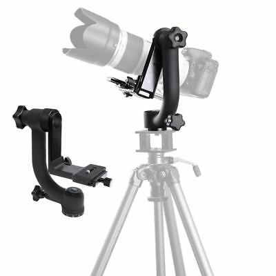 "Pro 1/4"" 360° Swivel Panoramic Gimbal Clamp Tripod Ball Head ST-360 fr Cam DSLRs"