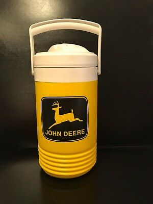 Vtg. John Deere Igloo 1 Gallon Water Cooler Tall Jug MADE IN USA New A MUST SEE