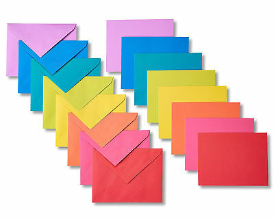 Rainbow Blank Note Cards And Envelopes Greeting Card Lot Office School Supplies