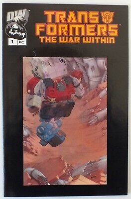 Transformers - The War Within - Issue # 1 Lenticular Variant Cover - NM/VF (231)