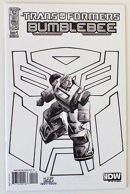 Transformers - Bumblebee - Issue # 1 - Retailer Incentive Cover - NM/VF (232)
