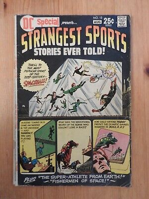 DC Special presents #13 … Strangest Sports Stories Ever Told VG