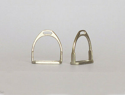 Traditional 1:9 Scale English Stirrups for Model Horse Sculptures