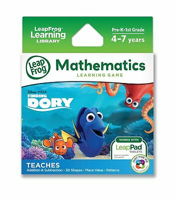 LeapFrog Disney / Pixar Finding Dory Learning Game Works With LeapPad Tablets