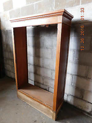 Antique Craftsman Style Built-In Cabinet - C. 1915 Oak Architectural Salvage