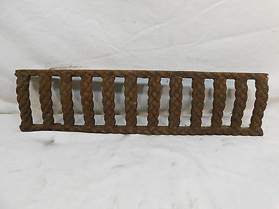 Antique Victorian Style Fireplace Grate Face - C. 1880 Architectural Salvage