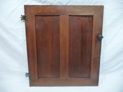 Antique Craftsman Style Cabinet Door - C. 1910 Fir Architectural Salvage