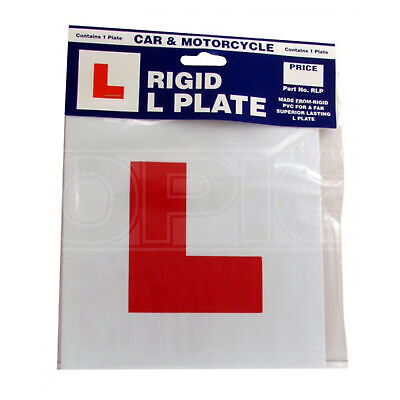 Castle Promotions L Plate - Rigid - Single (RLP)
