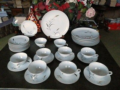 35  Ctsi Eternal Harvest Fine China Pattern Gold Wheat  Made Japan