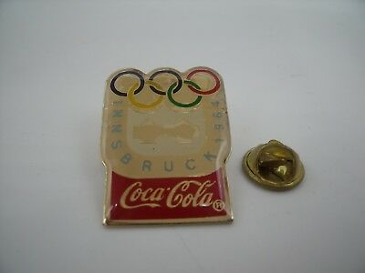 PIN'S PINS Pin Badge Jeux Olympiques JO OLYMPIC GAMES COCA COLA 1964 INSBRUK TOP