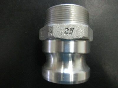 """2"""" Camlock And Groove Fitting 2F Cam Lock Aluminium Male Connector"""