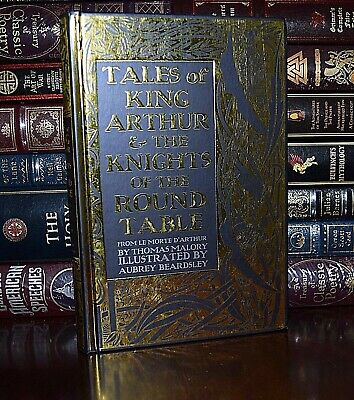 King Arthur & Knights of Round Table by Thomas Malory Illustrated New Hardcover