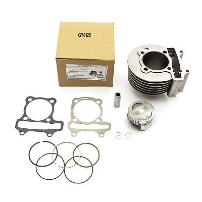 Chinese Import Scooter Change 125cc To 170cc Cylinder Barrel Piston Big Bore Kit