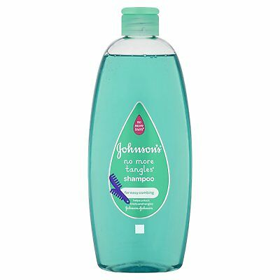 Johnsons Baby Shampoo No More Tangles Tears for easy-combing 500ml UK STOCK