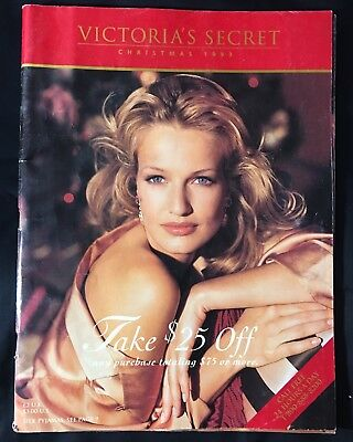 SO RARE!!! Victorias Secret Catalog- Vintage Christmas 1993- THICK 115 PAGES