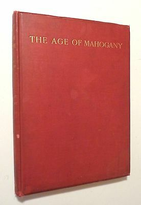 1938 HISTORY OF ENGLISH FURNITURE 18th Century Mahogany BEAUTIFUL Huge Color HC