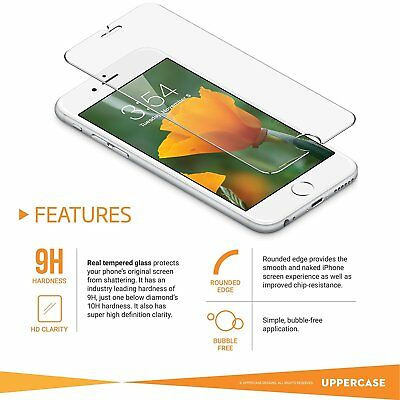 New Apple iPhone 6 Premium Tempered Glass Screen Protector Lot of 50 Wholesale