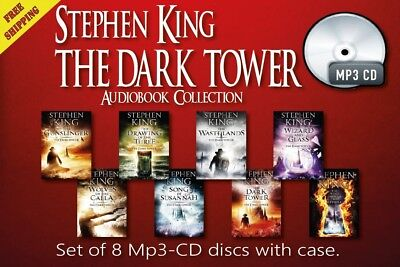 The Dark Tower Series by Stephen King - 8 audiobooks CD-Mp3 Unabridged
