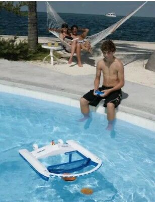 Dunnrite Jet-Net Boat (Hydro-Net) Remote Controlled Pool Surface Skimmer